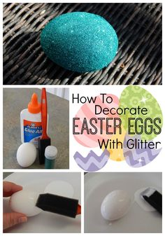 Several Easter Egg Decorating Ideas