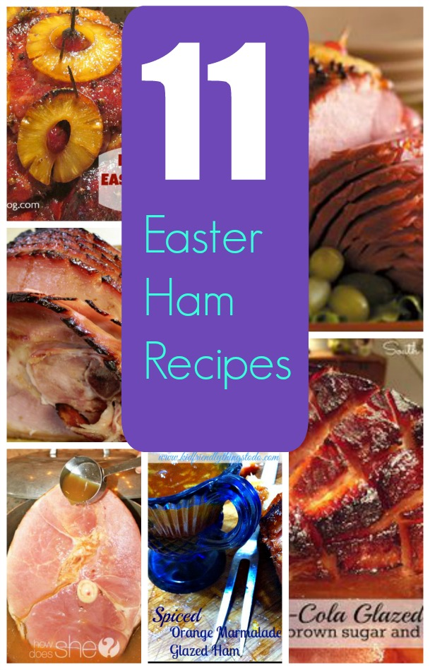 Easter Ham Recipe Round Up