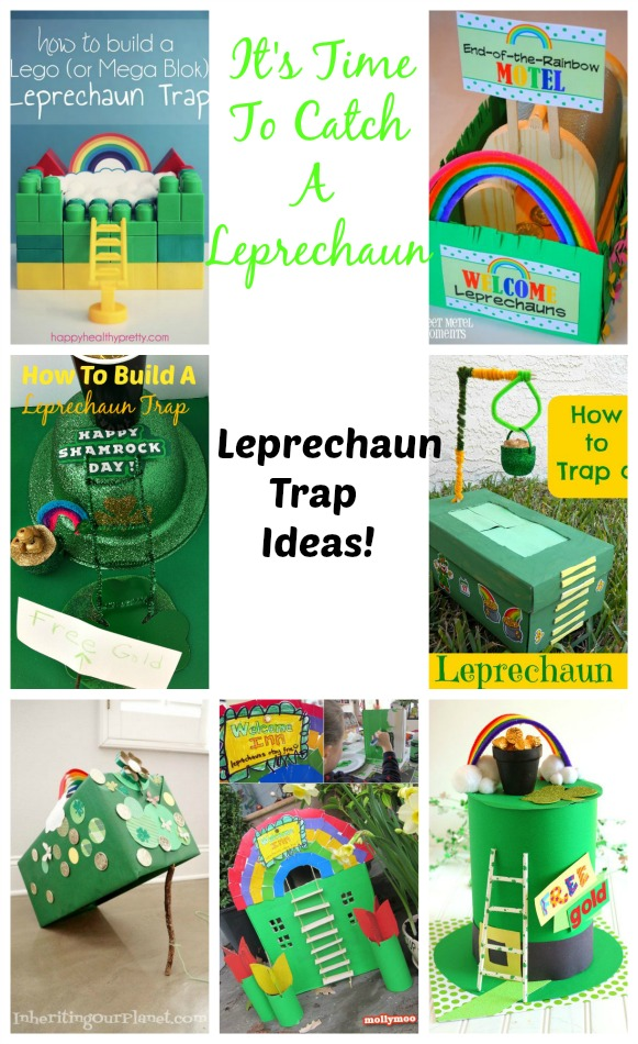Several Cute Leprechaun Trap Ideas