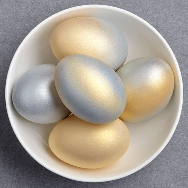 metalllic-easter-eggs