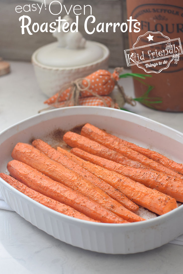 homemade oven roasted carrots