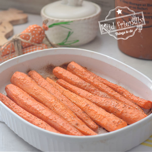 4 Ingredient Roasted Carrots | Kid Friendly Things To Do