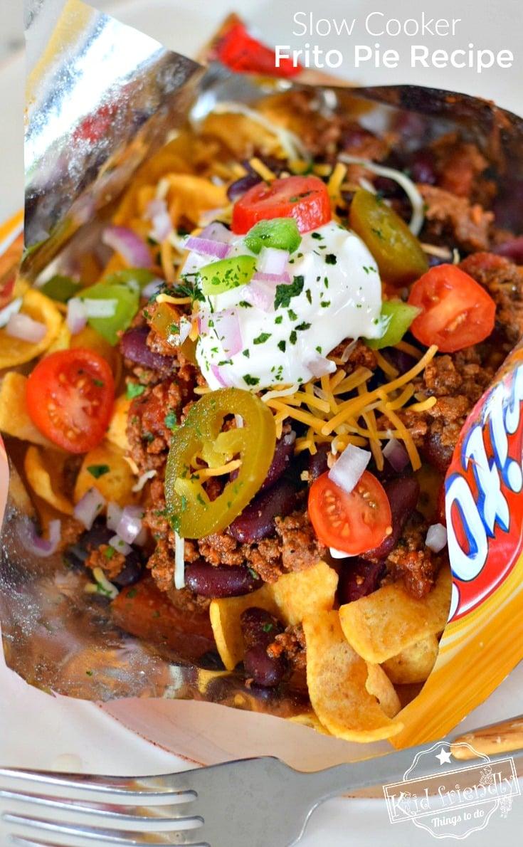 Chile Con Carne in a Frito Bag