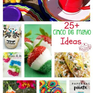 Over 25 Fun Cinco De Mayo crafts, fun food treats for kids and recipes - www.kidfriendlythingstodo.com