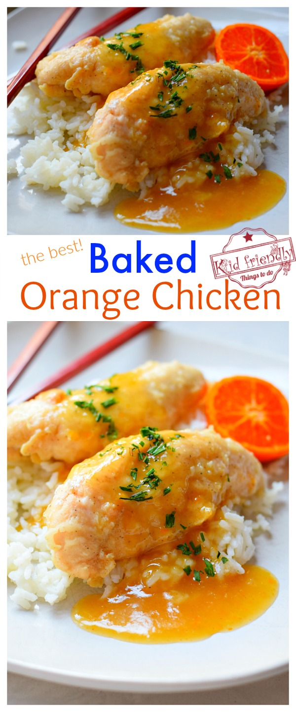 Baked Orange Chicken Recipe for dinner