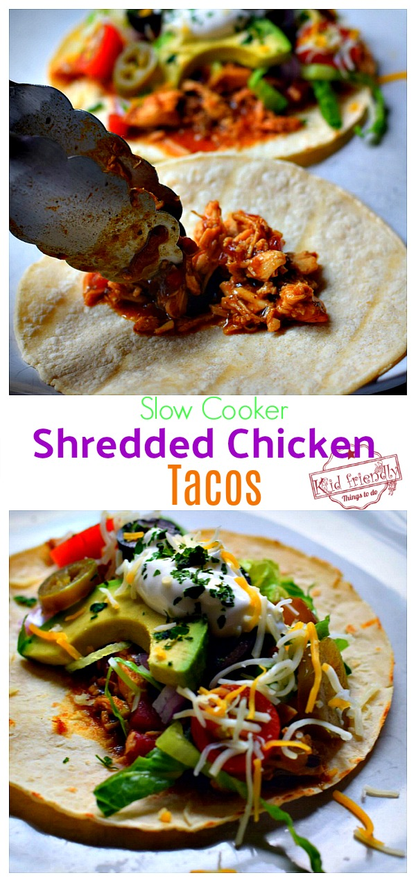 Chicken Tacos in a Crock Pot