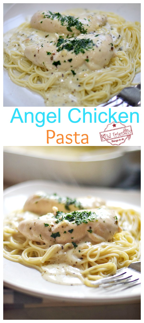 Angel Chicken Pasta Dinner