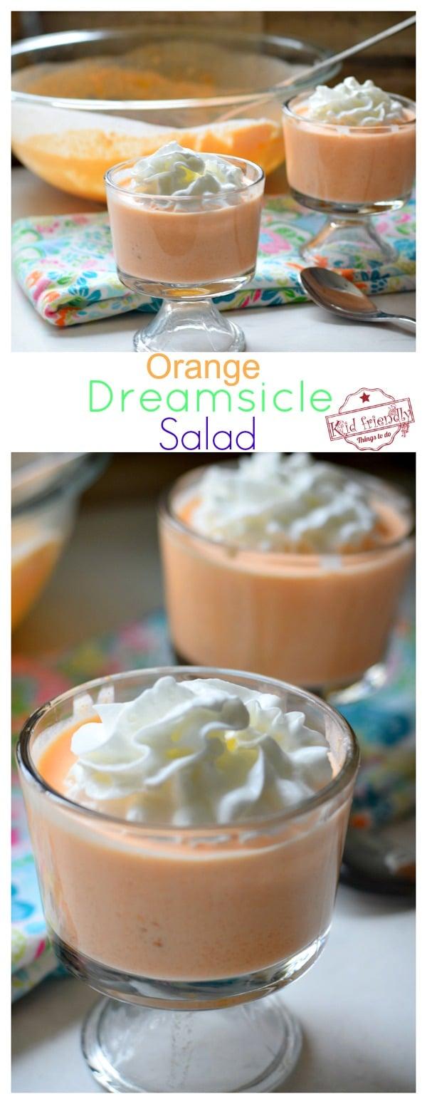 orange jello salad with cream cheese