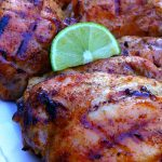 Honey Lime Grilled Glazed Chicken Thighs, Healthy, and Delicious! Perfect for your next barbecue!