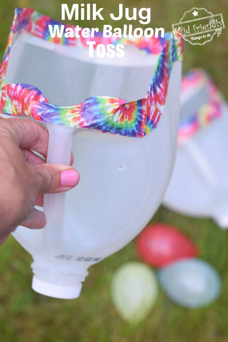 water balloon toss game