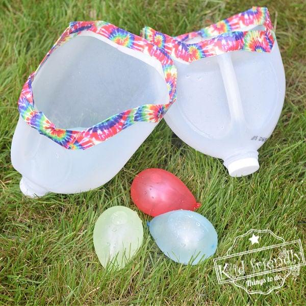 DIY Milk Jug Water Balloon Toss {Awesome Outdoor Summer Game!}