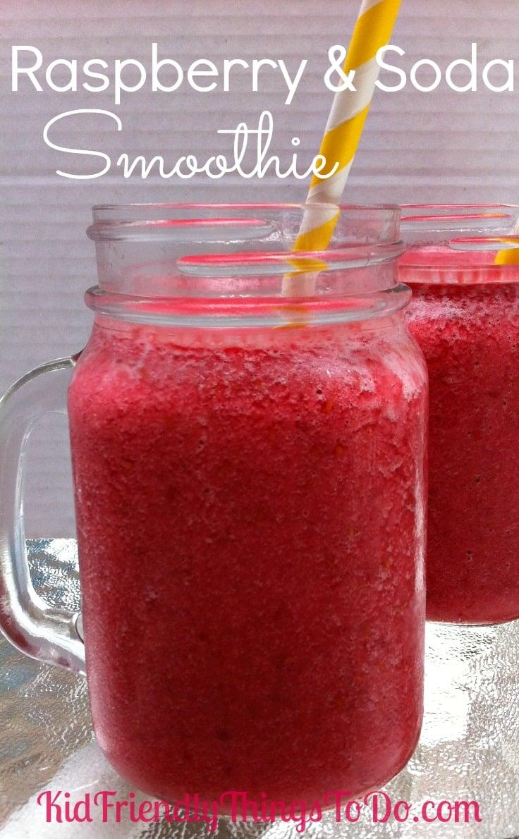 Raspberry & Soda Smoothie