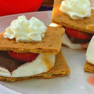 Strawberry Shortcake Smore's