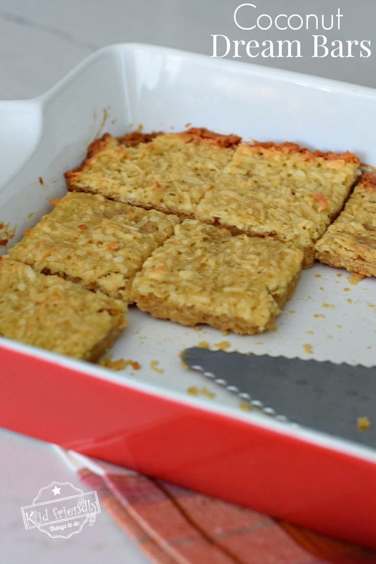 Coconut Dream Bars Recipe