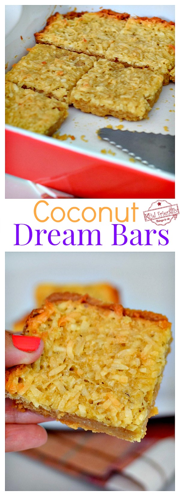 Coconut Dream Bar