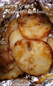 Perfect for camping, and grilling! Individual packets of seasoned tender potatoes, and onions. Delicious!