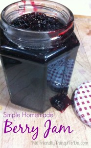 Simple and Quick Homemade Berry Jam