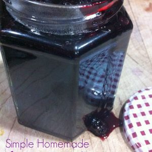 The easiest mixed berry sauce ever! It's so simple and delicious! A perfect recipe for all of those berries you picked this summer! Great on pancakes, and ice cream! Yum