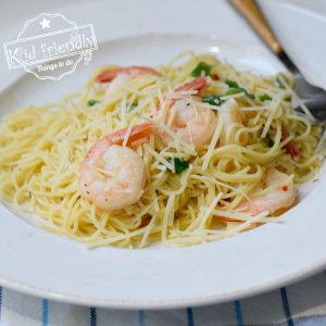 Easy Shrimp Scampi Recipe with Lemon | Kid Friendly Things To Do