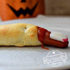 Halloween hot dog idea