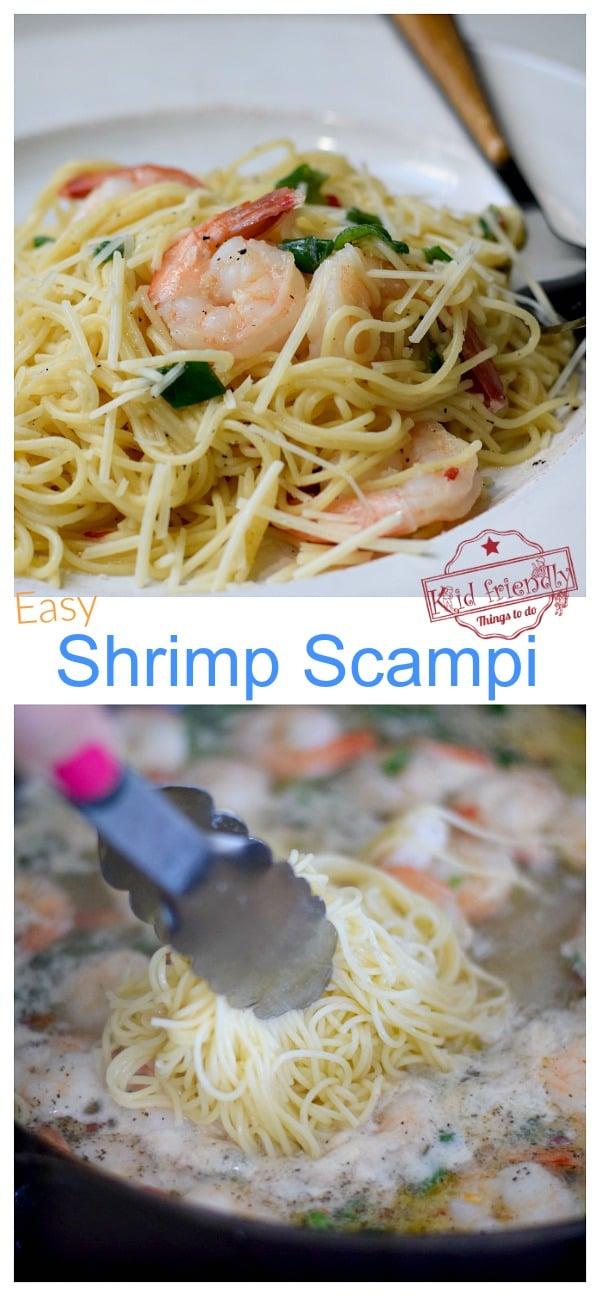 Shrimp Scampi Recipe Easy