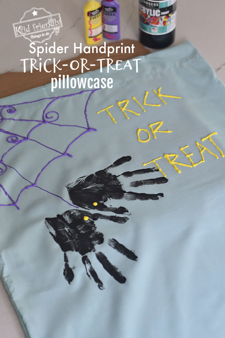 Halloween trick-or-treat bag