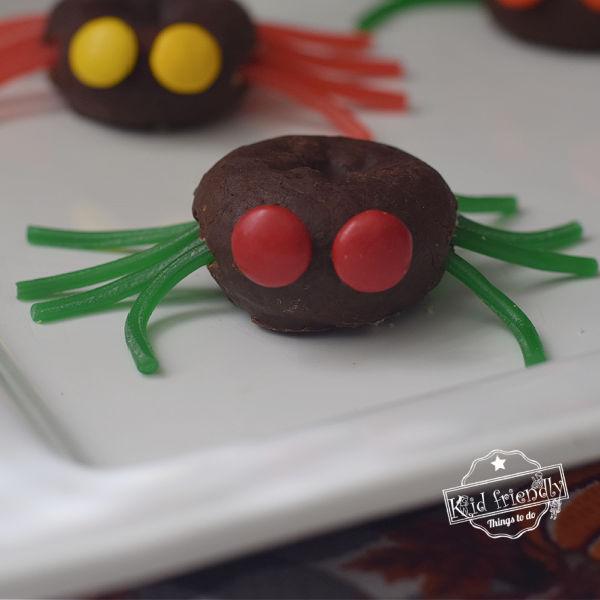 Halloween Spider Doughnuts Fun & Easy to Make Treat