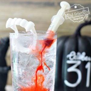 Kid-Friendly Halloween Vampire Drink Recipe | Kid Friendly Things To Do