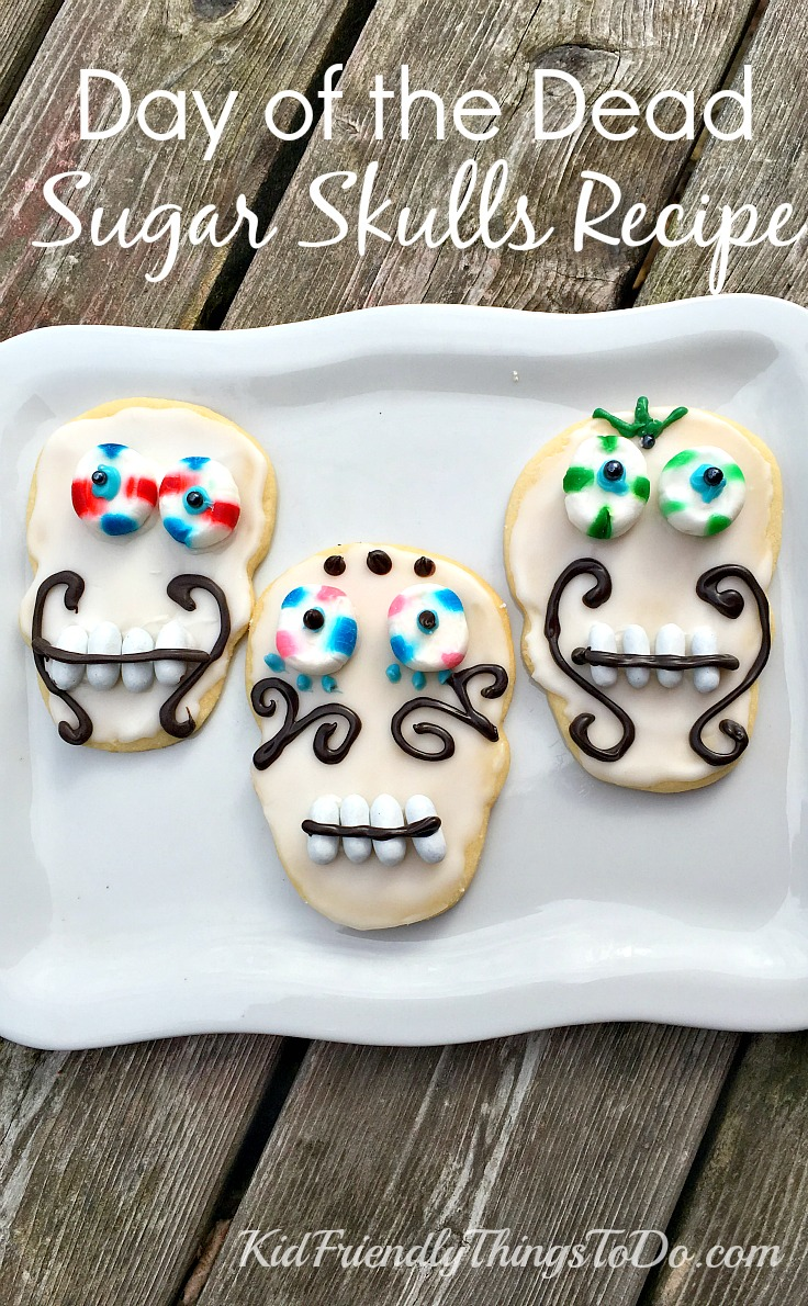Day of the Dead Sugar Skulls Recipe and Decorating Ideas - KidFriendlyThingsToDo.com : sugar skull decoration ideas - www.pureclipart.com