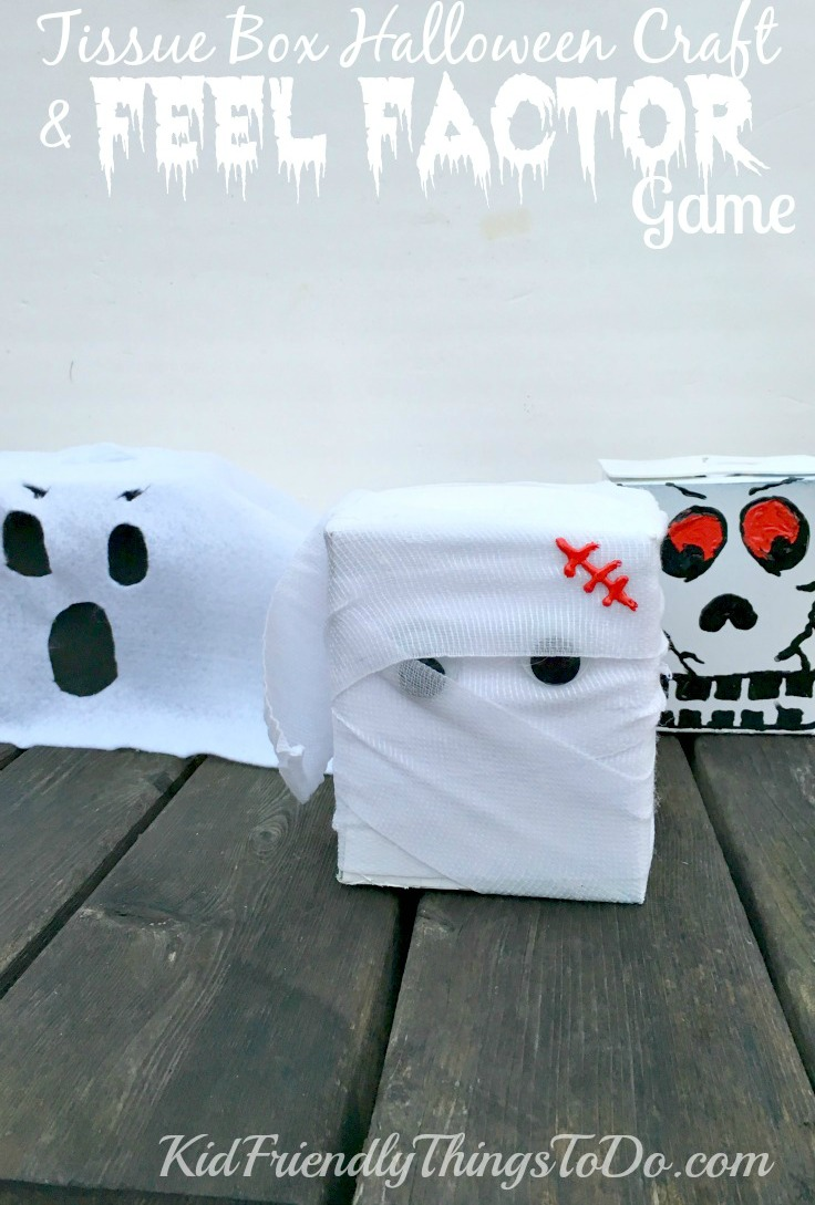 fear factor game for kids a halloween sensory game