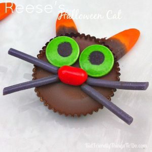 Reese's Simple To Make Halloween Cats