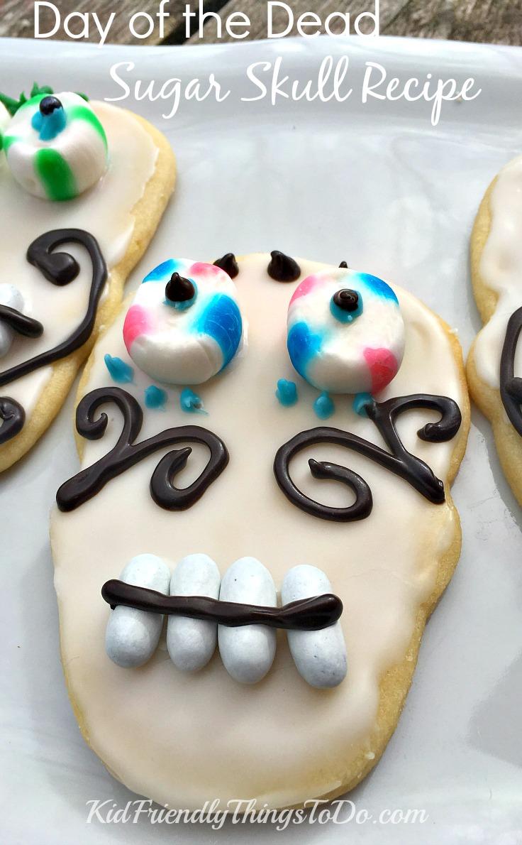 Day of the Dead Sugar Skulls Recipe and Decorating Ideas - KidFriendlyThingsToDo.com