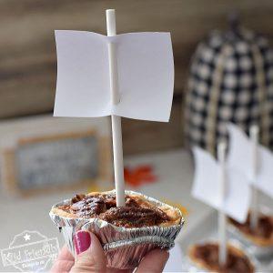 Mayflower Ship Pecan Pie for Thanksgiving