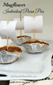 Delicious Mayflower Individual Pecan Pies
