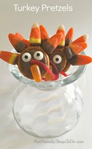 Thanksgiving Turkey Pretzels – A Fun Food