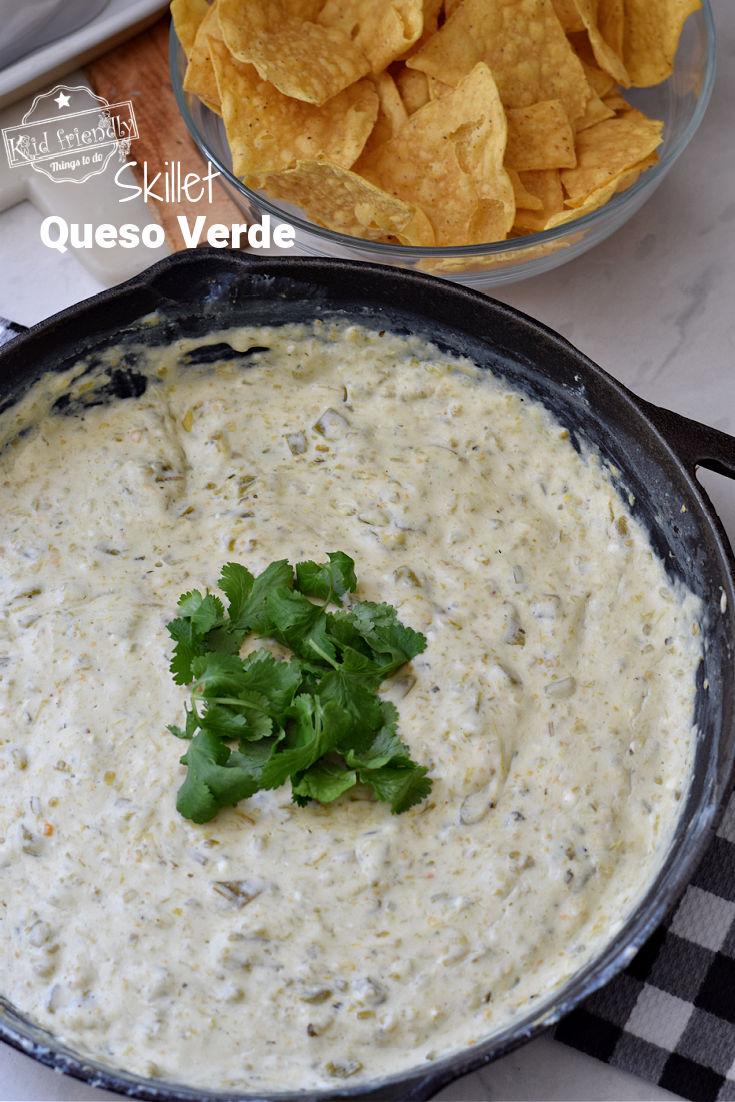 queso verde dip