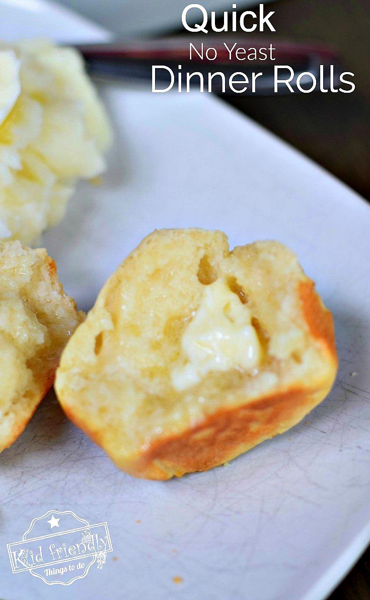 No Yeast Dinner Biscuit Rolls