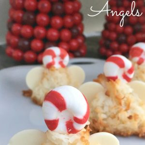 Christmas Coconut Macaroon Angels. So Darling! - KidFriendlyThingsToDo.com