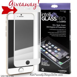 A Giveaway – Win A New Screen Protector From IntelliGLASS!
