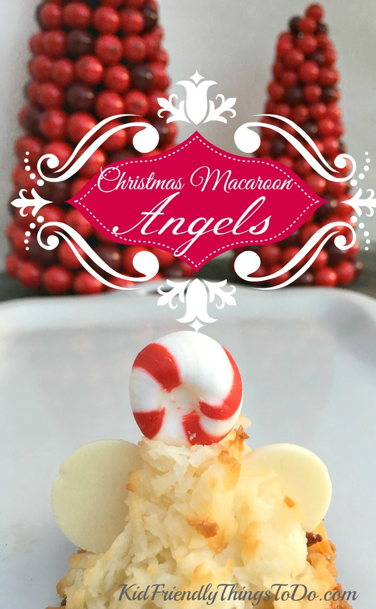 Christmas macaroon angels recipe a fun holiday food for Fun things to do for christmas party
