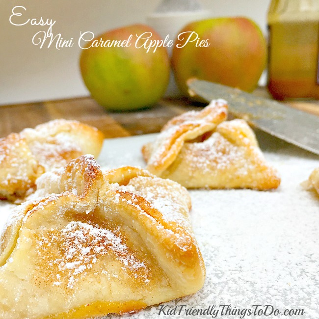 Easy Mini Caramel Apple Pies | Kid Friendly Things to Do.com - Crafts ...