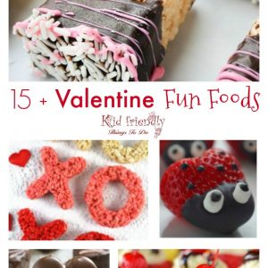 15+ Valentine's Day Fun Food and Drink Treats for kids - www.kidfriendlythingstodo.com