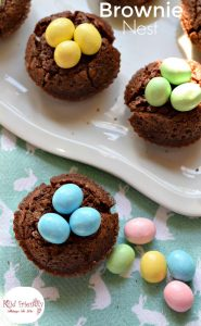 Brownie Bird Nests For Easter or Spring Fun Foods | Kid FriendlyThings To Do