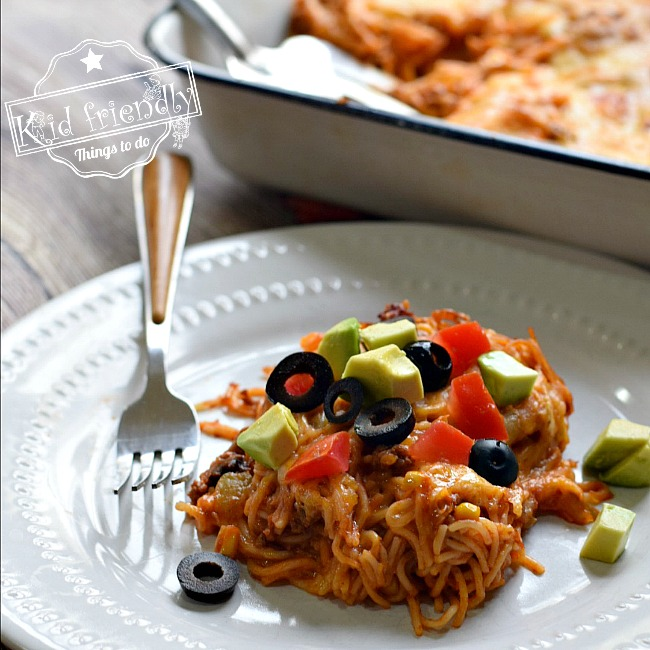Mexican Noodle Casserole Recipe