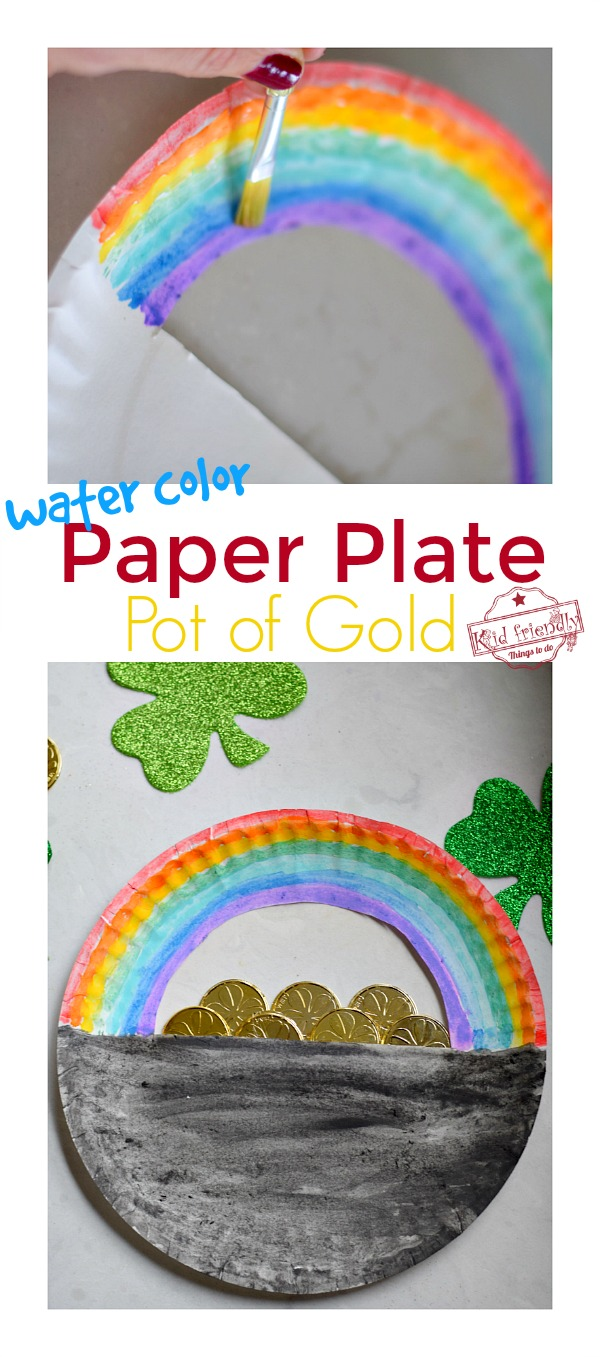 Pot of Gold with Rainbow Craft