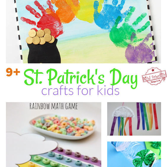 Over 9 of the Best St. Patrick's Day Crafts For Kids Ideas
