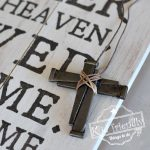 Cross necklace craft for Easter