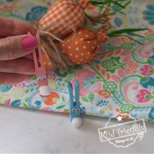 clothespin bunnies