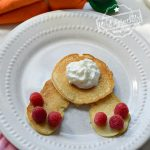 bunny but pancakes