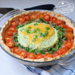 Easy Mexican Pie with Cornmeal Crust | Kid Friendly Things To Do